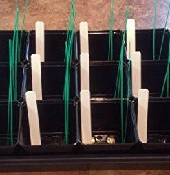 18-One-Tray-Starting-Combo-18-Counts-35-Tech-Square-Pot-18-pcs-Waterproof-Reusable-Handwritten-Garden-Plant-Seed-Label-36pcs-Bond-8-inch-Twist-Ties-Tray-not-Included-0-0