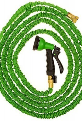 50ft-Expandable-Garden-Hose-Water-Hose-Solid-Brass-Ends-8-Position-Spray-Nozzle-34Inch-Lightweight-Expanding-Flexible-Gen8-Products-0-0