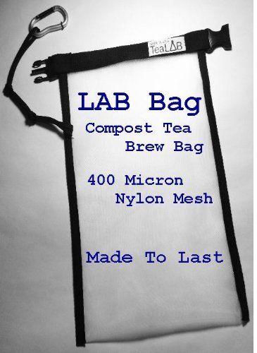 Compost-Tea-Brew-Bag-400-Micron-Nylon-Mesh-Made-To-Last-in-the-USA-5-Gallon-Bucket-Sized-9×14-0