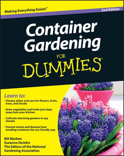 container gardening for dummies container garden club