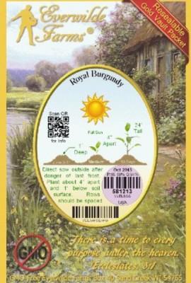 Everwilde-Farms-Royal-Burgundy-Green-Bean-Seeds-Gold-Vault-0-1