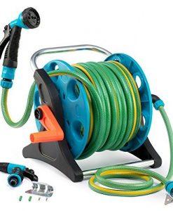 Garden-Hose-Reel-Cart-70-Feet-Greenblue-Hose-Reel-Cart-1-Set-for-Home-Garden-Car-Watering-0-0
