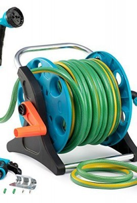 Garden-Hose-Reel-Cart-70-Feet-Greenblue-Hose-Reel-Cart-1-Set-for-Home-Garden-Car-Watering-0-0