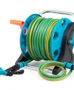 Garden-Hose-Reel-Cart-70-Feet-Greenblue-Hose-Reel-Cart-1-Set-for-Home-Garden-Car-Watering-0-2