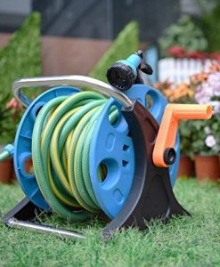 Garden-Hose-Reel-Cart-70-Feet-Greenblue-Hose-Reel-Cart-1-Set-for-Home-Garden-Car-Watering-0-4