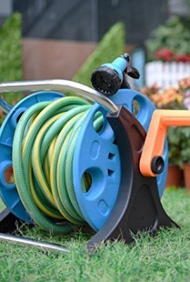 Garden-Hose-Reel-Cart-70-Feet-Greenblue-Hose-Reel-Cart-1-Set-for-Home-Garden-Car-Watering-0-4