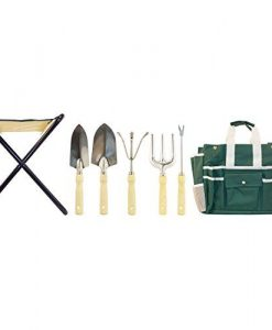 GardenHOME-Folding-Stool-with-Tool-Bag-and-5-Tools-Garden-Tool-Set-All-in-one-0-0