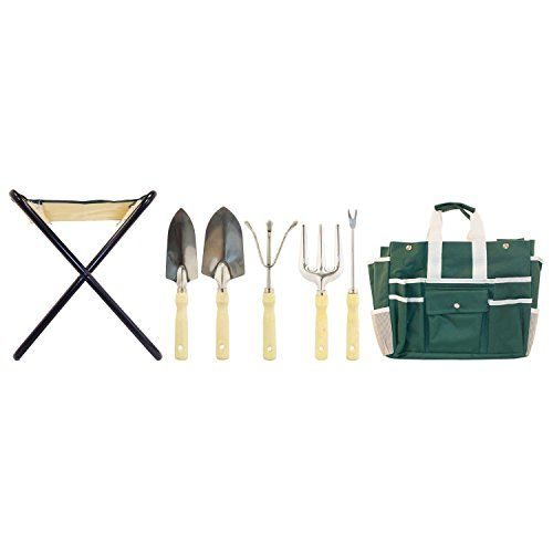 Top rated gardenhome 7 piece all in one garden tool set for Best quality garden tools