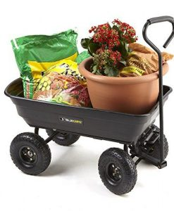 Gorilla-Carts-GOR200B-Poly-Garden-Dump-Cart-with-Steel-Frame-and-10-Inch-Pneumatic-Tires-0-5