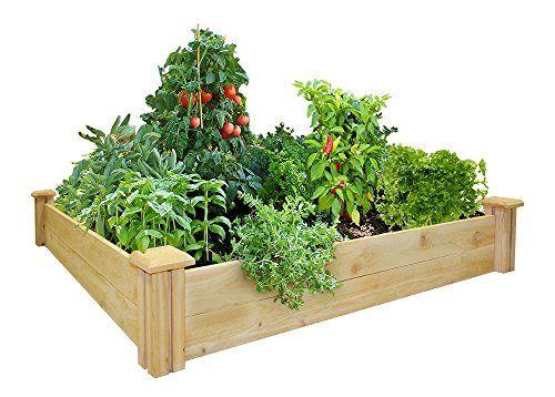 Greenes-Fence-48-Inch-x-48-Inch-Cedar-Raised-Garden-Bed-0