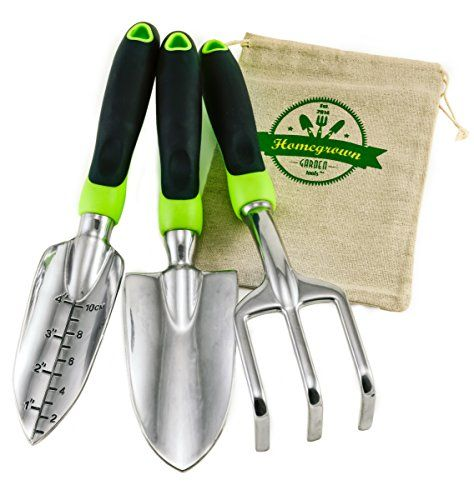 Truefit designs 7 piece garden tool set with durable cast for Garden tools best quality