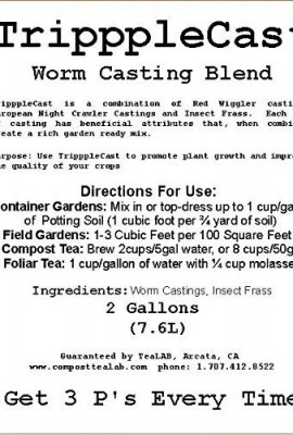 Insect-Frass-Worm-Castings-Blend-TripppleCast-98-Pure-Worm-Casting-Blend-with-Insect-Frass-2-Gallon-Bucket-Get-3-Ps-Every-Time-0-0
