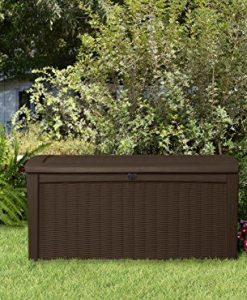 Keter-Plastic-Deck-Storage-Container-Box-Outdoor-Patio-Garden-Furniture-110-Gal-Brown-0-4