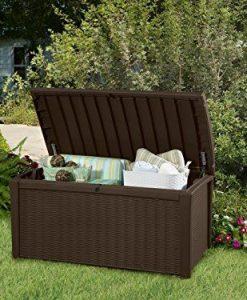 Keter-Plastic-Deck-Storage-Container-Box-Outdoor-Patio-Garden-Furniture-110-Gal-Brown-0-5