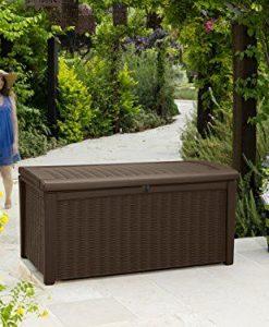 Keter-Plastic-Deck-Storage-Container-Box-Outdoor-Patio-Garden-Furniture-110-Gal-Brown-0-6