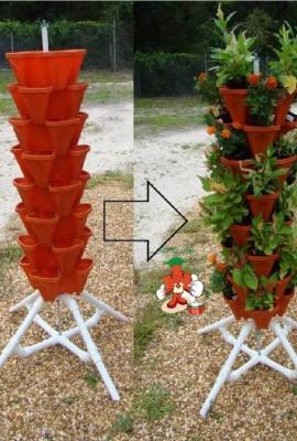 Compost tea archives container garden club - Garden tower vertical container garden ...