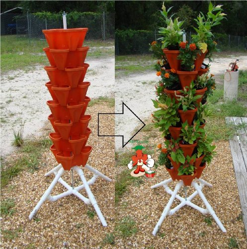 Mr Stacky Vertical Gardening Tower Hydroponics