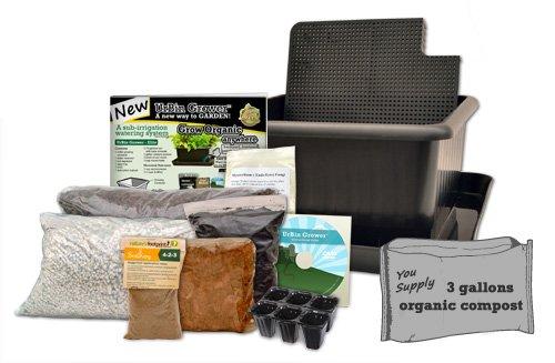 Natures-Footprint-Sub-Irrigation-watering-Planter-Metro-Grower-Elite-6-gallon-Black-0
