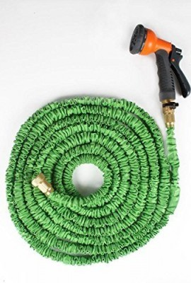 Ohuhu-25-Feet-Expandable-Garden-Hose-with-Brass-Connector-and-Spray-Nozzle-0-0