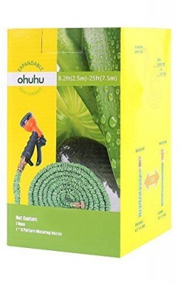 Ohuhu-25-Feet-Expandable-Garden-Hose-with-Brass-Connector-and-Spray-Nozzle-0-6