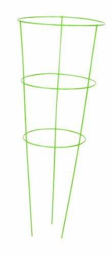 Panacea-Products-89772-Heavy-Duty-Tomato-and-Plant-Support-Cage-Light-Green-Set-of-5-0