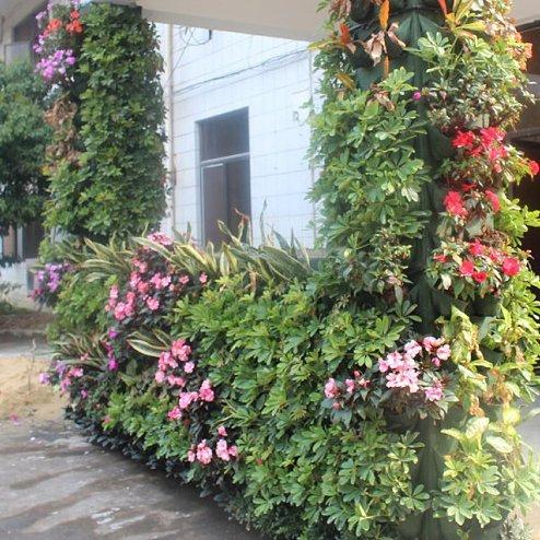 StarSide 7 Pocket Vertical Garden Plant Grow Container