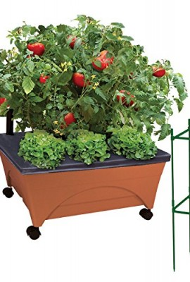 5 tier stackable strawberry herb flower and vegetable for Portable vegetable garden