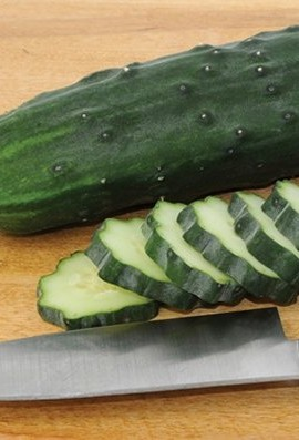Cucumber-Slicing-Marketmore-76-D336-Green-50-Organic-Seeds-by-Davids-Garden-Seeds-0