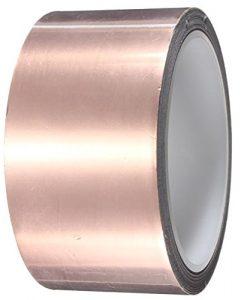 50mm-x20M-Adhesive-Single-Face-Electric-Conduction-Copper-Foil-Tape-EMI-Shielding-Guitar-Slug-and-Snail-Barrier-0-0