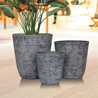 Stone-Light-Antique-AT-Series-Cast-Stone-Planter-11in-Dia-x-115in-Height-0-0