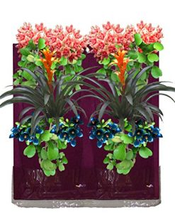 4-Pocket-Vertical-Garden-Planter-By-Invigorated-Living-Waterproof-Garden-Pots-for-Indoor-Outdoor-Use-on-Patios-Balconies-Apartments-Easy-to-Hang-Fill-with-Flowers-Herbs-Vegetables-0-6