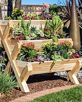 CedarCraft-Cascading-Garden-Planter-3-Tier-0-0