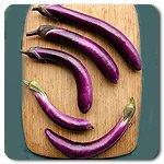 Eggplant-Ping-Tung-Long-HM2467U-Purple-50-Organic-Seeds-by-Davids-Garden-Seeds-0