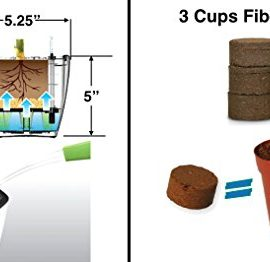 Self-Watering-Planter-5-Water-Level-Indicator-Fiber-Soil-Foolproof-Indoor-Garden-and-Happy-Plants-Aquaphoric-Planter-Pot-for-All-House-Plants-Herbs-African-Violets-Succulents-Its-Easy-0-0