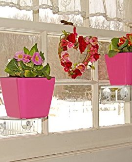 Self-Watering-Planter-5-Water-Level-Indicator-Fiber-Soil-Foolproof-Indoor-Garden-and-Happy-Plants-Aquaphoric-Planter-Pot-for-All-House-Plants-Herbs-African-Violets-Succulents-Its-Easy-0-4
