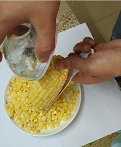 SameTech-Corn-Stripper-Cutter-Corn-shaver-Peeler-Kitchen-Cooking-tools-Remover-With-Hand-Protector-0-7