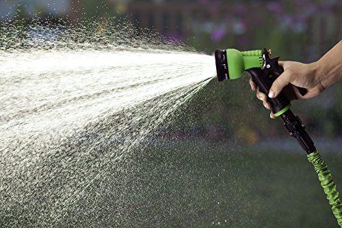 Hose Spray Nozzle >> GrowGreen Garden Hose, 50 Feet, Strongest, Hose, Water ...